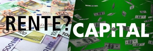 Sortie en rente ou en capital
